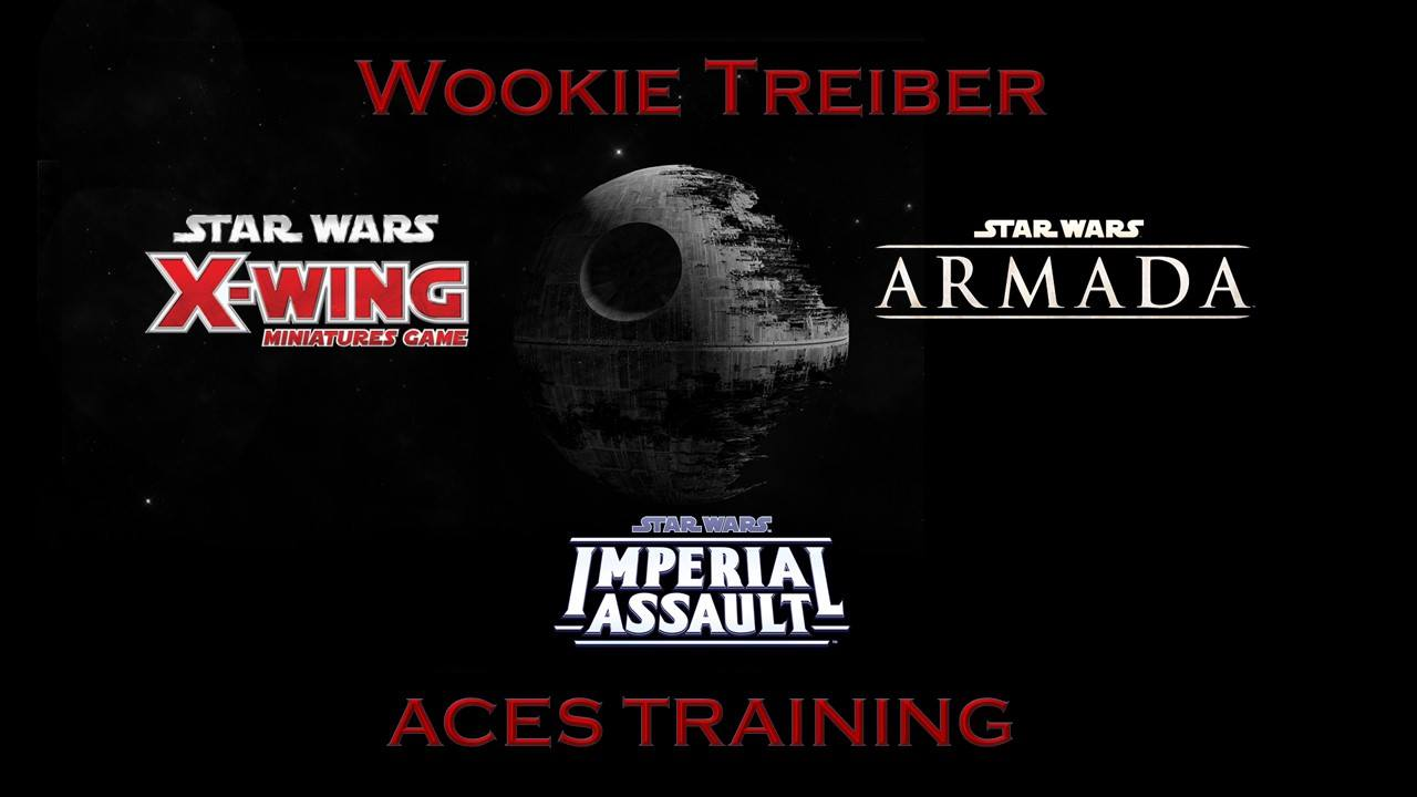 Star Wars - Wookie Treiber Aces Training